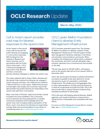 Current OCLC Research Update flyer
